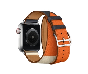 CBAW15 40mm Double Tour Apple Watch Hermès Leather Band
