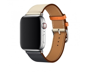 CBAW16 40mm 44mm Single Tour Apple Watch Hermès Leather Band