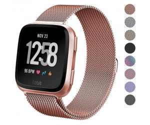 CBFW612 Magnetic Milanese Loop  Watch Band