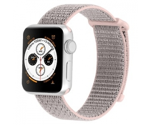 CBIW153 Sport Loop Nylon Strap For Apple Watch With Hook and Loop Fastener