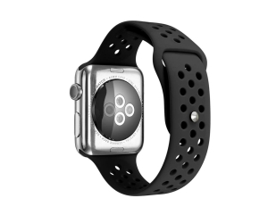 CBIW26 Wholesale Silicone Watch Straps For Apple Watch Series 6 5 4 3 2 1 SE Band
