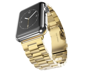 CBIW303 Apple Watch Stainless Steel Watch Band with  Folding Clasp