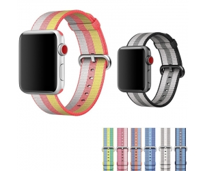 CBIW317 Apple Watch Woven Nylon Strap Band