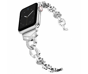CBIW73 Stylish Rhinestone Watch Bands For Apple Watch Strap