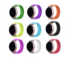 CBSW78 18mm 20mm 22mm Elastic Nylon Rope Strap Watch Bands For Samsung  Smartwatch