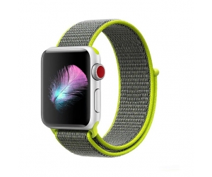 Banda de reloj de nylon tejida CBTN09 para Apple Watch 44mm 40mm 42mm 38mm