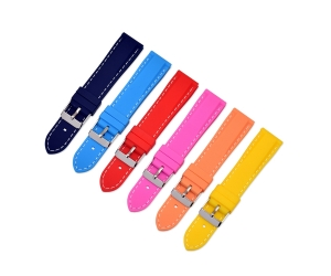 CBUS10 18mm 20mm 22mm 24mm Silicone Watch Band
