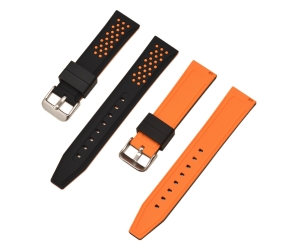 CBUS14 20mm 22mm 24mm 26mm Silicone Watch Strap