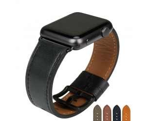 CBUW02 Quality Leather Watch Strap For Apple Watch Band 44mm 40mm 42mm 38mm