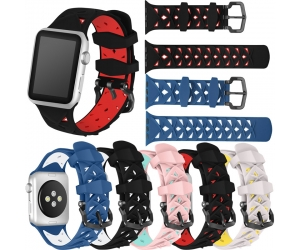 CBWB41 Colorful Soft Silicone Replacement Sport Band