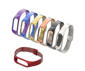 CBXM307 Bangle Style Mesh Stainless Steel Replacement Strap For Xiaomi Mi Band 3
