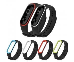 CBXM340 Xiaomi Mi Band 3 Soft Silicone Watch Strap Replacement Wristband