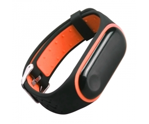 CBXM348 Colorful Rubber Silicone Replacement Wristband Strap For Xiaomi Band 3 Bracelet