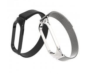 CBXM363 Magnetic Closure Milanese Stainless Steel Strap For Xiaomi Mi Band 3
