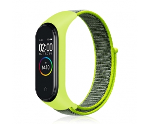 CBXM432 Woven Nylon Watch Band For Xiaomi Mi Band 5 4 3