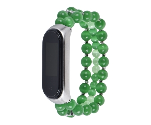 CBXM445 Handmade Jewelry Beads Bracelet Watch Band For Xiaomi Mi Band 4 3