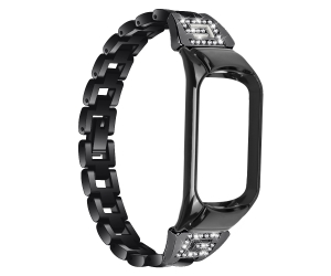 CBXM503 Rhinestone Alloy Metal Watch Bracelet Strap For Xiaomi Mi Band 5