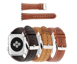Crazy Horze Pattern  Leather Replacement Watch Band