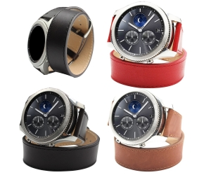 Leisure Style Universal Samsung Gear S3  Leather Watch Straps
