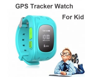 Mini GPS Tracker Watch For Kids Smart Mobile Phone App Bracelet Wristband Alarm