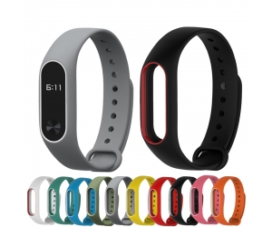 Xiaomi Mi Band 2 Strap Colorful Replacement  Silicone Wrist  Band