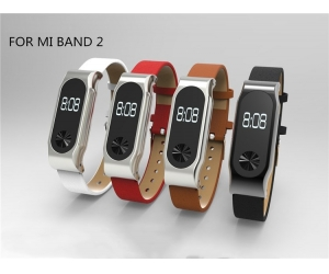 Xiaomi mi band 2 Strap Replacement Band with Stainless Metal Clasp