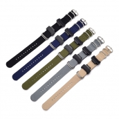 China CBCS01-N5 Sport Military Nylon Wrist Watch Straps For Casio G Shock Bracelet Band Strap With Adapters factory