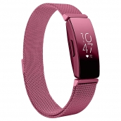 China CBFC55 Milanese Loop Stainless Steel Watch Band For Fitbit Inspire  / Inspire HR factory