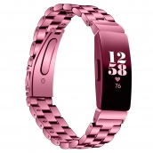 China CBFC56 3-Link Chain Stainless Steel Watch Band For Fitbit Inspire  / Inspire HR factory