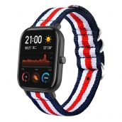 Fabbrica della Cina CBHA-105 Amazfit GTS Nato Striped Nylon Watch Bands 20mm