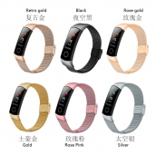 China CBHW12 Mesh Stainless Steel Smart Watch Band For Huawei Honor 4 Strap factory