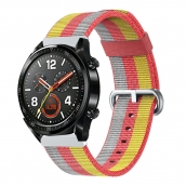 China CBHW29 Muilt-color Striped Nato Nylon Watch Band For Huawei Watch GT factory