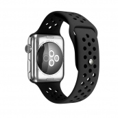 La fábrica de China CBIW26 Correas de reloj de silicona al por mayor para Apple Watch Series 6 5 4 3 2 1 SE Band