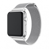 Çin CBIW64 Manyetik Mesh Milanese Paslanmaz Çelik Watch Band Apple Watch İçin fabrika