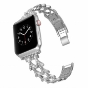 La fábrica de China CBIW74 Nuevo diseño Bling Metal Watch Band para Apple Watch