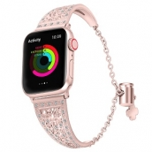China CBIW78 Dressy Diamond manchet armband horlogebanden voor Apple Watch 38 mm 42 mm 40 mm 44 mm fabriek
