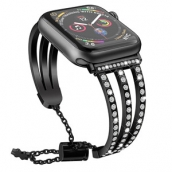 China CBIW84 Bling Diamond horlogebanden voor Apple iWatch-serie 1 2 3 4 5 fabriek