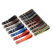 China CBUS31 20mm 22mm Replacement Watchstrap Nato Watch Bracelet Strap Woven Nylon Watch Band factory