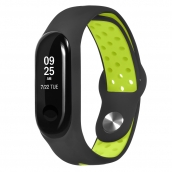 China CBXM341 Breathable Soft Fitness Sport Silicone Replacement Strap For Xiaomi Mi Band 3 factory