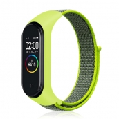 China CBXM432 Geweven nylon horlogeband voor Xiaomi Mi Band 4 3 fabriek
