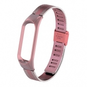China CBXM438 Mesh Stainless Steel Smart Watch Strap For Xiaomi Mi band 4 3 factory